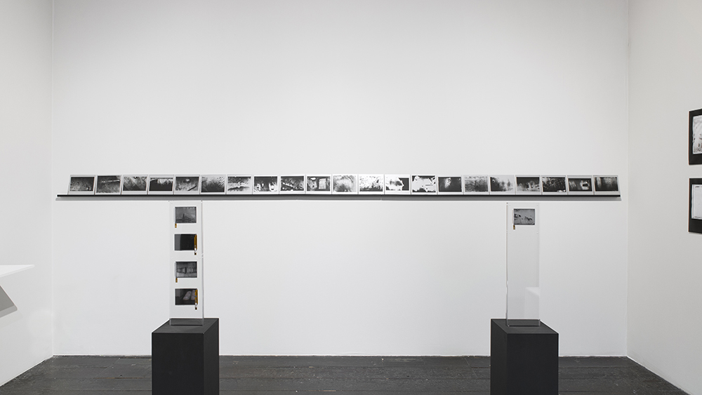 Antony Cairns: Process, installation view, Roman Road booth D5, Photo London, London, 19 May - 22 May 2016. © Ollie Hammick