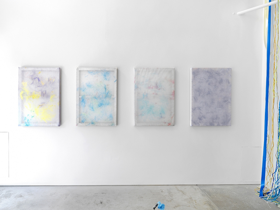 May Hands: Bleach, installation view, Roman Road, London, 25 June - 01 August 2015. © Ollie Hammick