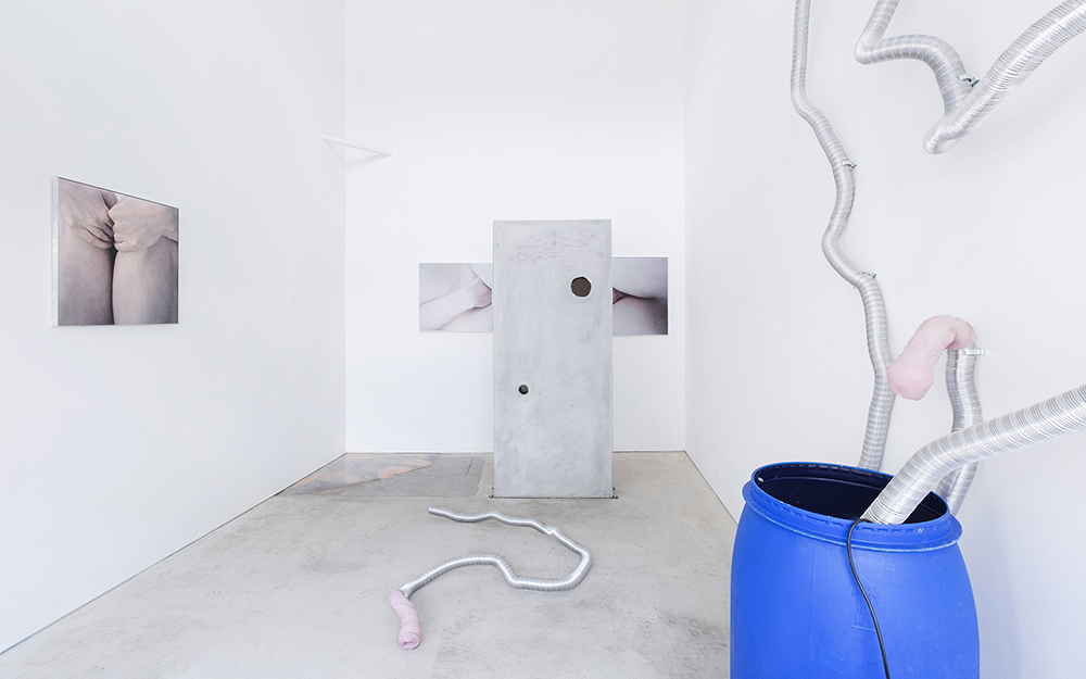Mia Dudek and Alix Marie: MDAM, installation view, Roman Road, London, 27 April - 26 May 2017. Courtesy of Roman Road and the artists. © Ollie Hammick
