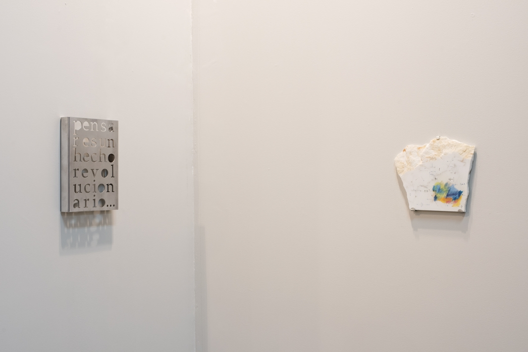Alix Marie and Marie Orensanz, installation view, Roman Road stand L12, SP-Arte/2018, São Paulo, 11 – 15 April 2018. Courtesy of Roman Road and the artists. © Rafael Chvaicer and Ana Viotti