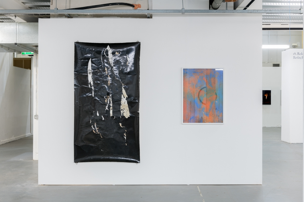 Installation view, Roman Road booth 28, Sunday Art Fair, London, 04 - 07 October 2018. Courtesy of Roman Road. © Damian Griffiths