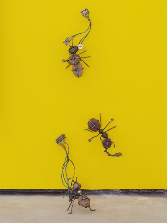 Victor Payares, Mut(ants), 2018. Courtesy of Roman Road and the artist. © Ari King