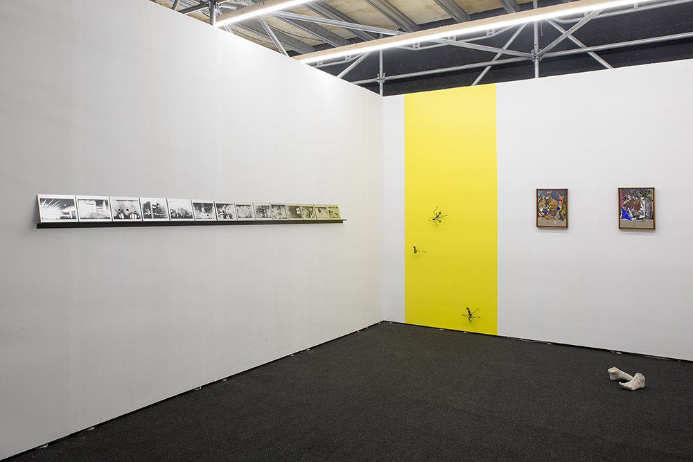 Installation view, Roman Road stand B25, Material Art Fair, Mexico City, 07 - 10 February 2019. Courtesy of Roman Road. © Ramiro Chaves