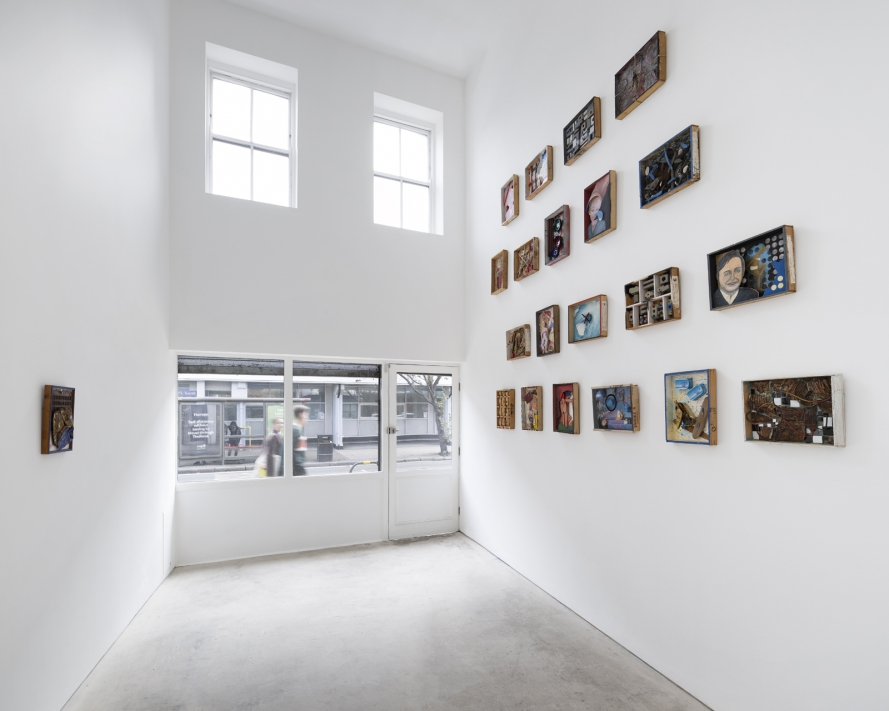 Visvaldis Ziedins: Out of the Box, installation view, Roman Road, London, 05 – 18 October 2019. Courtesy of Roman Road and the artist. © Ollie Hammick